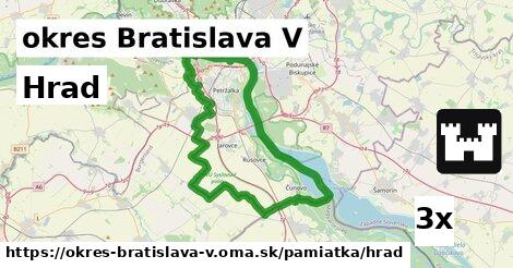 hrad v okres Bratislava V