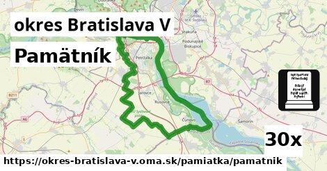 pamätník v okres Bratislava V