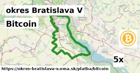 ilustračný obrázok k Bitcoin, okres Bratislava V