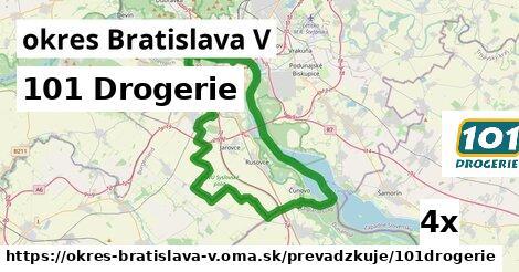 ilustračný obrázok k 101 Drogerie, okres Bratislava V
