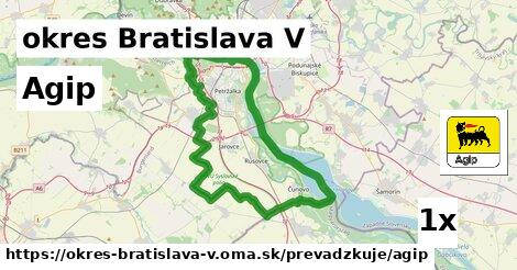 ilustračný obrázok k Agip, okres Bratislava V