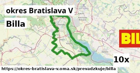 ilustračný obrázok k Billa, okres Bratislava V