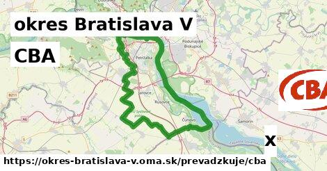 ilustračný obrázok k CBA, okres Bratislava V