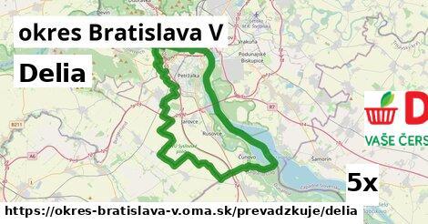 ilustračný obrázok k Delia, okres Bratislava V