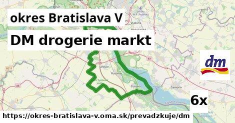 ilustračný obrázok k DM drogerie markt, okres Bratislava V
