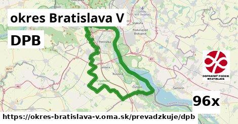ilustračný obrázok k DPB, okres Bratislava V