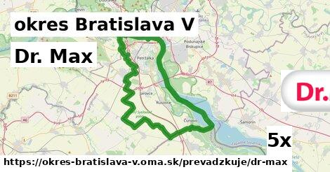 ilustračný obrázok k Dr. Max, okres Bratislava V