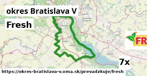 ilustračný obrázok k Fresh, okres Bratislava V