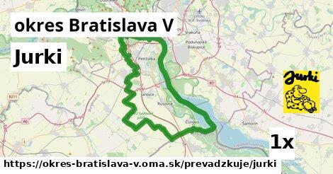 ilustračný obrázok k Jurki, okres Bratislava V