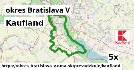 ilustračný obrázok k Kaufland, okres Bratislava V