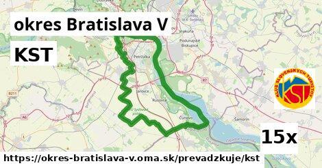 ilustračný obrázok k KST, okres Bratislava V