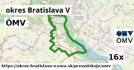 ilustračný obrázok k ÖMV, okres Bratislava V