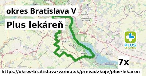 ilustračný obrázok k Plus lekáreň, okres Bratislava V