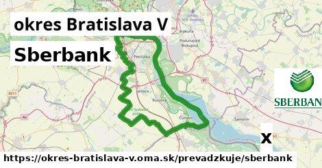 ilustračný obrázok k Sberbank, okres Bratislava V
