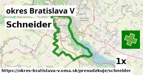 ilustračný obrázok k Schneider, okres Bratislava V