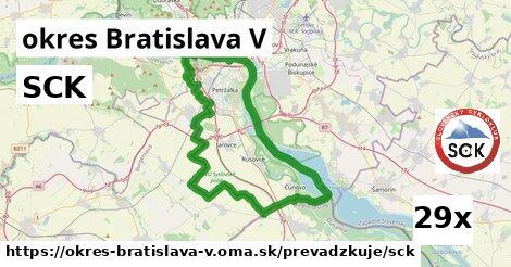 ilustračný obrázok k SCK, okres Bratislava V