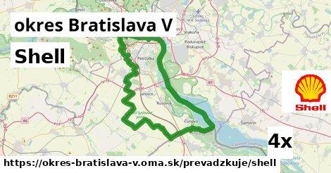 ilustračný obrázok k Shell, okres Bratislava V