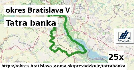 ilustračný obrázok k Tatra banka, okres Bratislava V