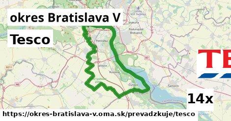 ilustračný obrázok k Tesco, okres Bratislava V
