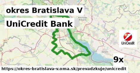 ilustračný obrázok k UniCredit Bank, okres Bratislava V