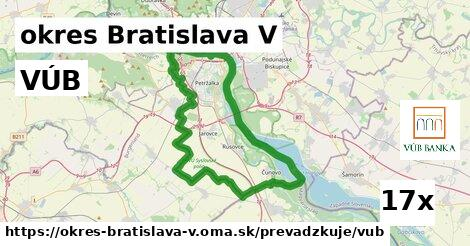ilustračný obrázok k VÚB, okres Bratislava V