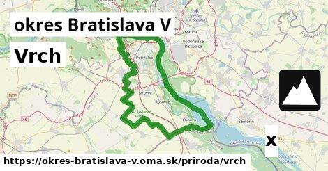 ilustračný obrázok k Vrch, okres Bratislava V