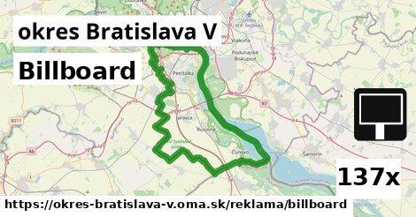 ilustračný obrázok k Billboard, okres Bratislava V