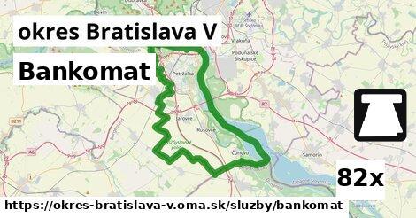 ilustračný obrázok k Bankomat, okres Bratislava V