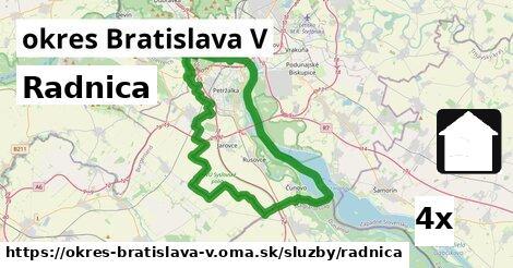 ilustračný obrázok k Radnica, okres Bratislava V