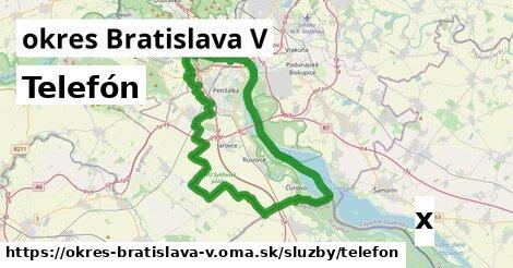 ilustračný obrázok k Telefón, okres Bratislava V