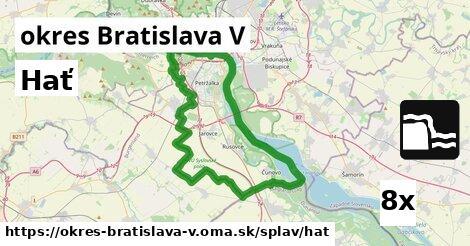 hať v okres Bratislava V