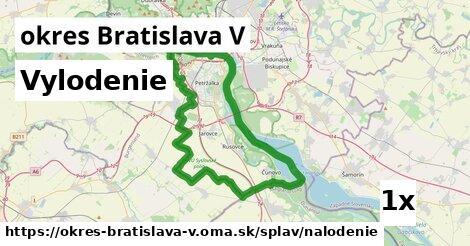 ilustračný obrázok k Vylodenie, okres Bratislava V