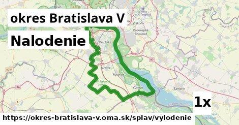 ilustračný obrázok k Nalodenie, okres Bratislava V