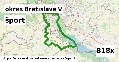 šport v okres Bratislava V