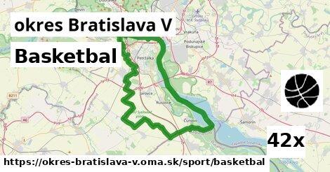 ilustračný obrázok k Basketbal, okres Bratislava V