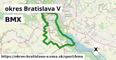 ilustračný obrázok k BMX, okres Bratislava V
