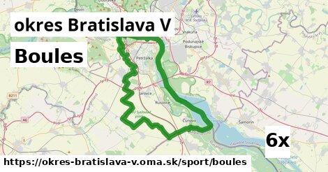 ilustračný obrázok k Boules, okres Bratislava V
