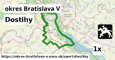 ilustračný obrázok k Dostihy, okres Bratislava V