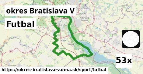 ilustračný obrázok k Futbal, okres Bratislava V