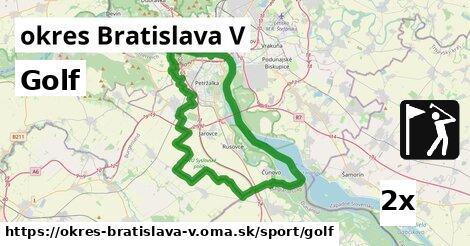 ilustračný obrázok k Golf, okres Bratislava V