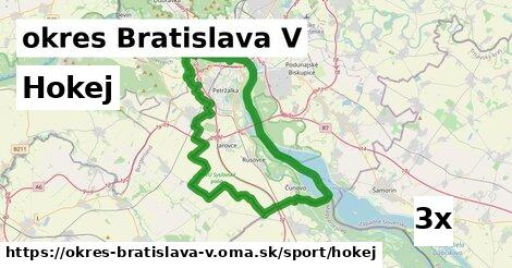 ilustračný obrázok k Hokej, okres Bratislava V