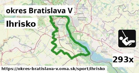 ihrisko v okres Bratislava V