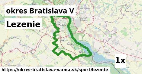 lezenie v okres Bratislava V