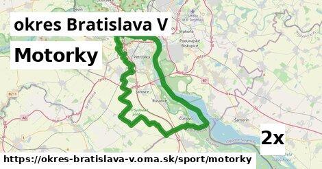 ilustračný obrázok k Motorky, okres Bratislava V