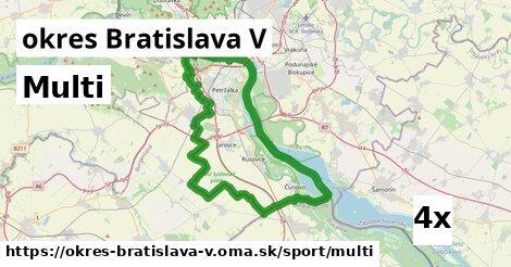 ilustračný obrázok k Multi, okres Bratislava V