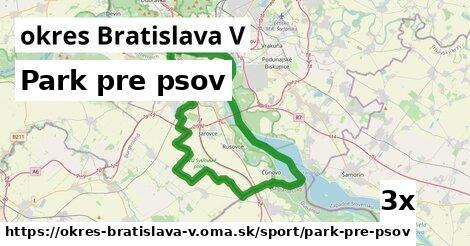 ilustračný obrázok k Park pre psov, okres Bratislava V