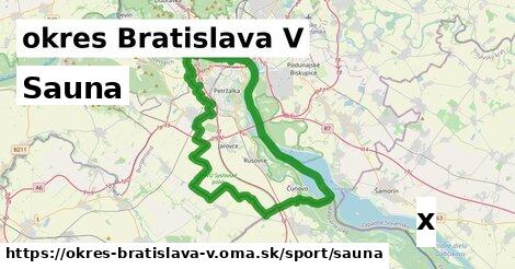 ilustračný obrázok k Sauna, okres Bratislava V