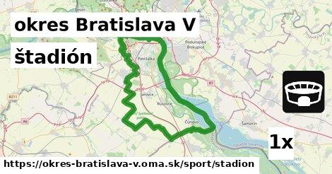 ilustračný obrázok k štadión, okres Bratislava V