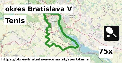 ilustračný obrázok k Tenis, okres Bratislava V