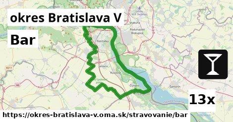 bar v okres Bratislava V
